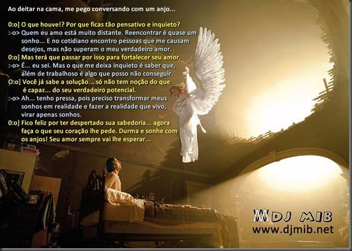 Conversando com um anjo